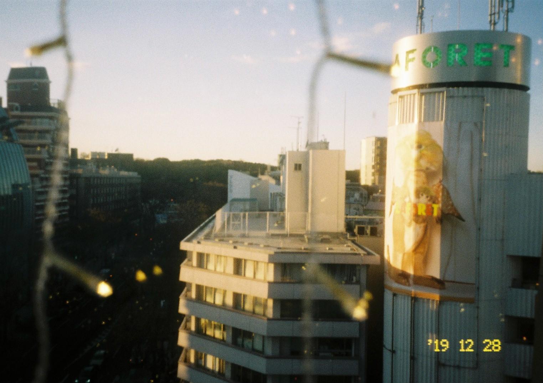 PENTAX espio115、Kodak colour Plusで撮る原宿