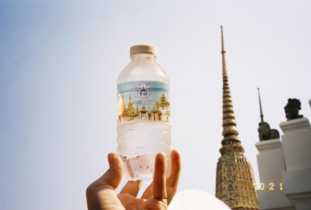 タイのワットポーを観光。涅槃像の秘部をPORTRA400で