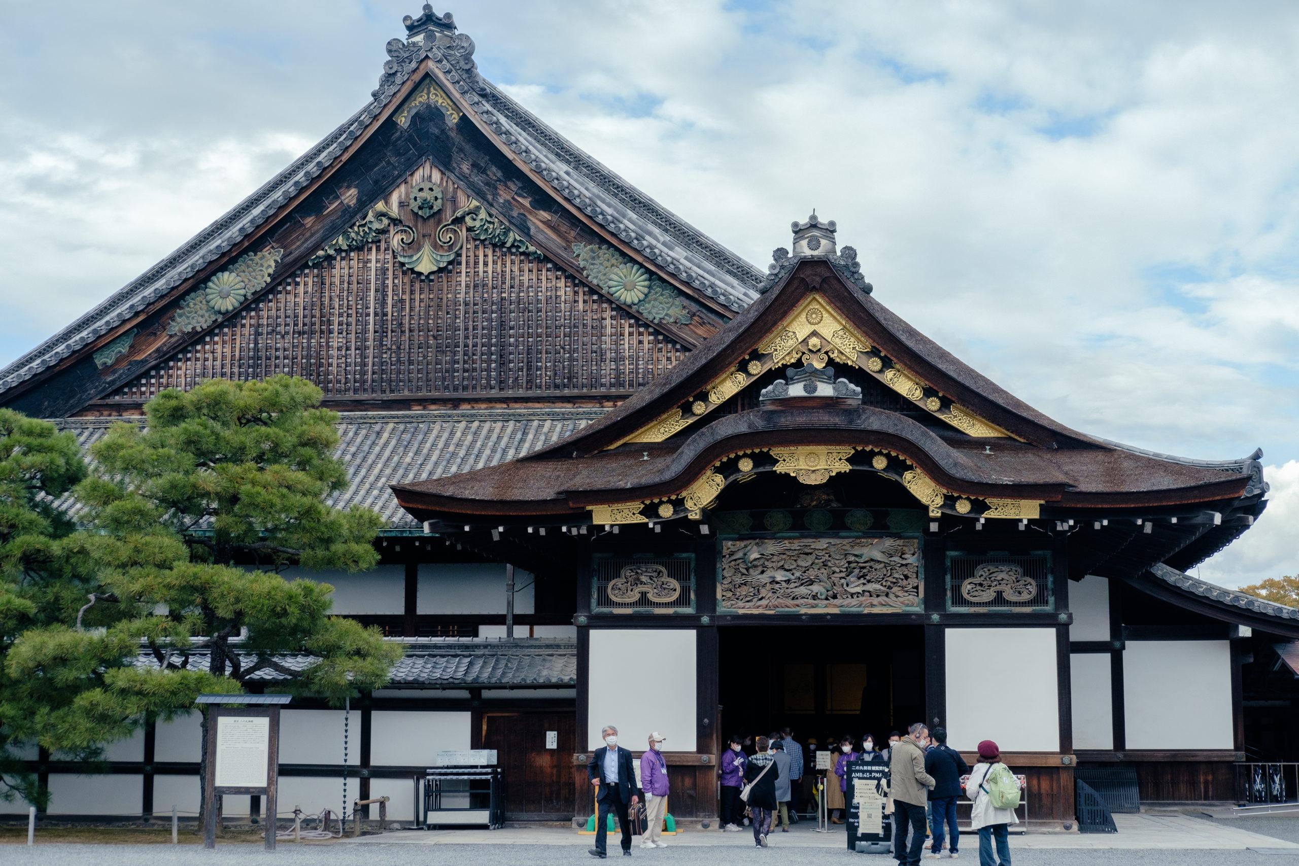 京都旅行。二条城とカフェ。秒で植物に飽きて困った【X-T3×XF35mmf2】